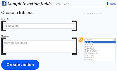 Publikasi Update Blog ke Facebook dengan ifttt