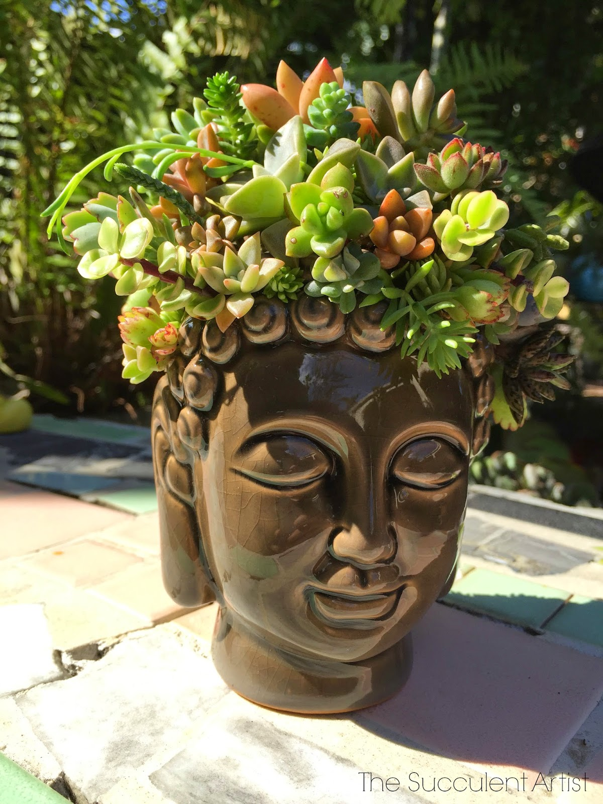 It Looks Wonderful Next To My Other Garden Buddhas, For Example: