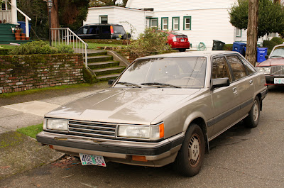 1984 Toyota Camry LE-5-door Liftback.