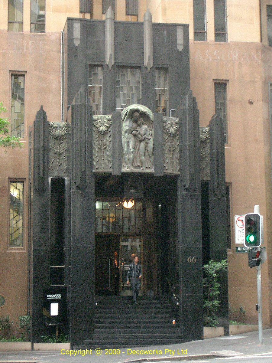 Sydney Art Deco Heritage Cml Building