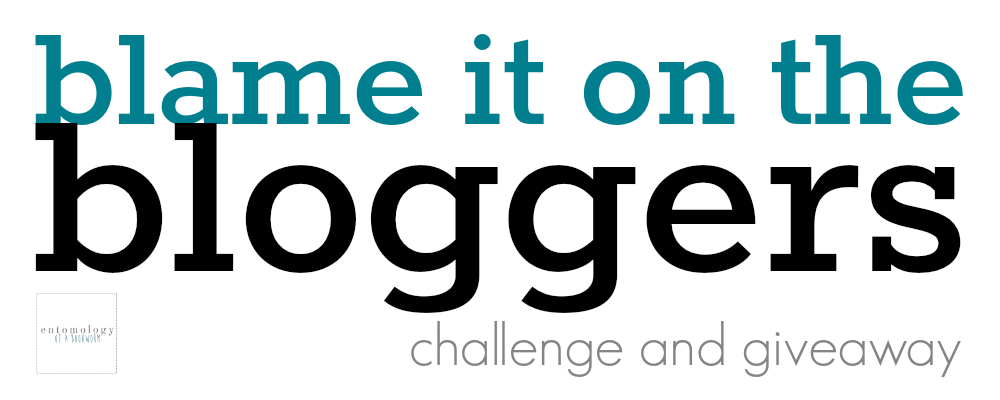 blame it on the bloggers readathon mini challenge & giveaway