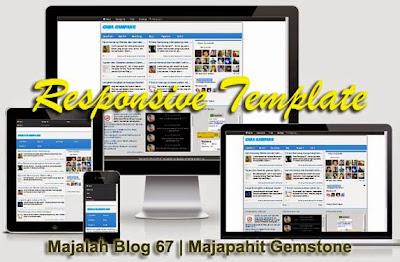 Majalah Blog, Responsive Template