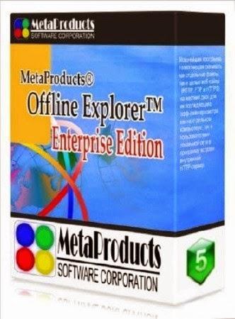 برنامج تحميل المواقع إلى الكمبيوتر وتصفحها بدون اتصال Portable Offline Browser