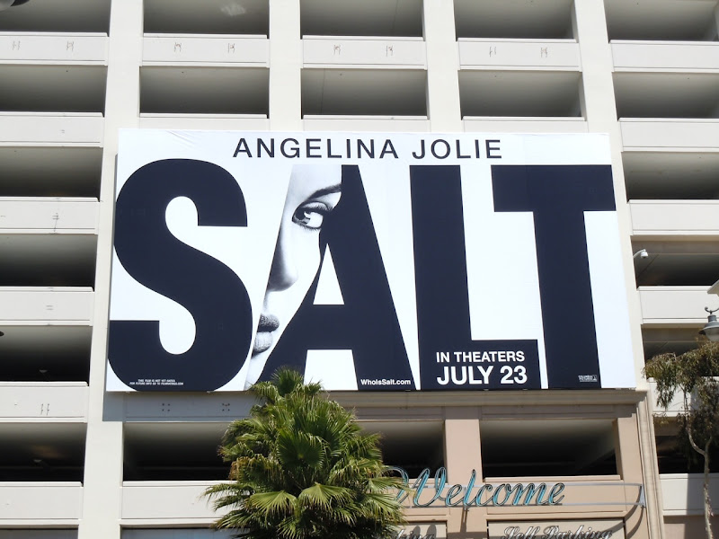 Salt movie billboard