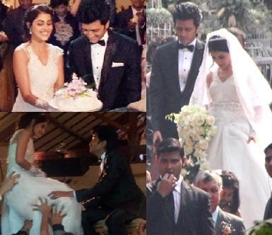 Genelia-Ritesh Church Wedding Gallery - ManaTeluguMovies