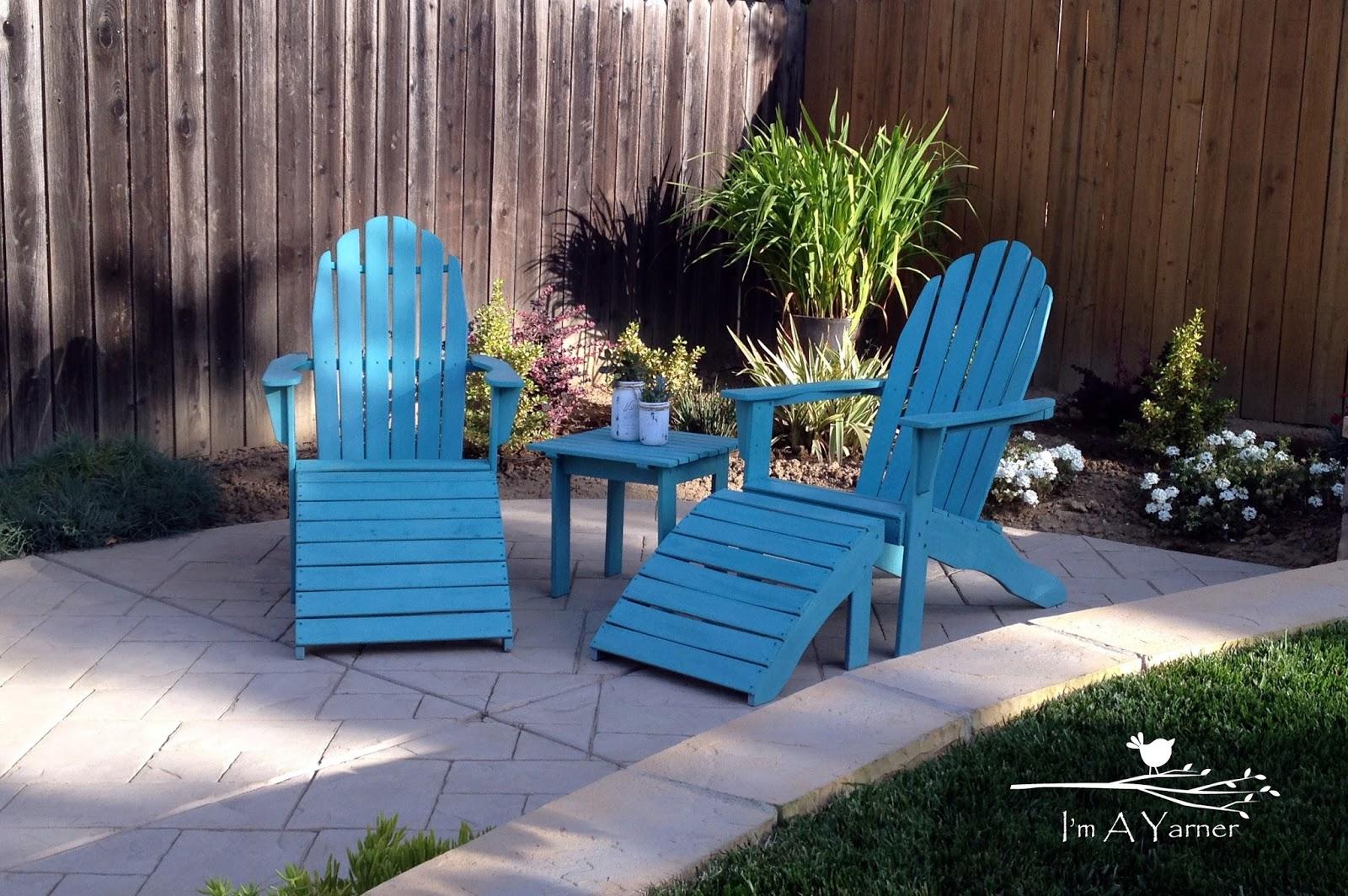 Updated Adirondack Chairs
