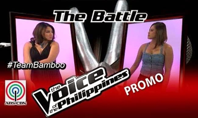 Watch Ramonne Rodriguez vs Lougee Basabas on The Voice of the Philippines Team Bamboo's Battles Round