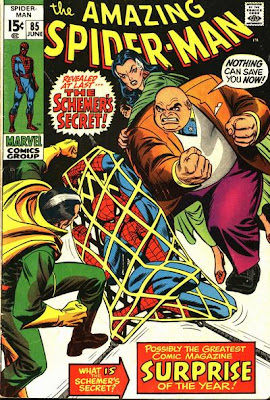 Amazing Spider-Man #85, the Kingpin and the Schemer