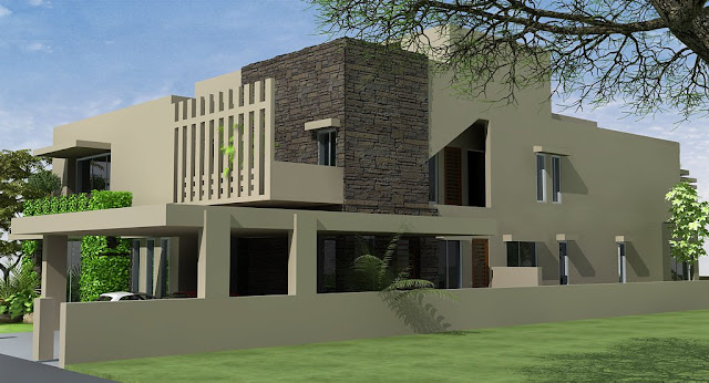 Front Elevation Of Wc : D front elevation pakistani sweet home houses floor