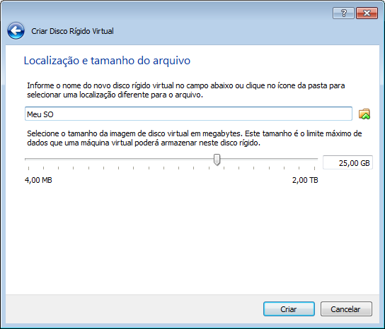 disco rigido do virtualbox 2013