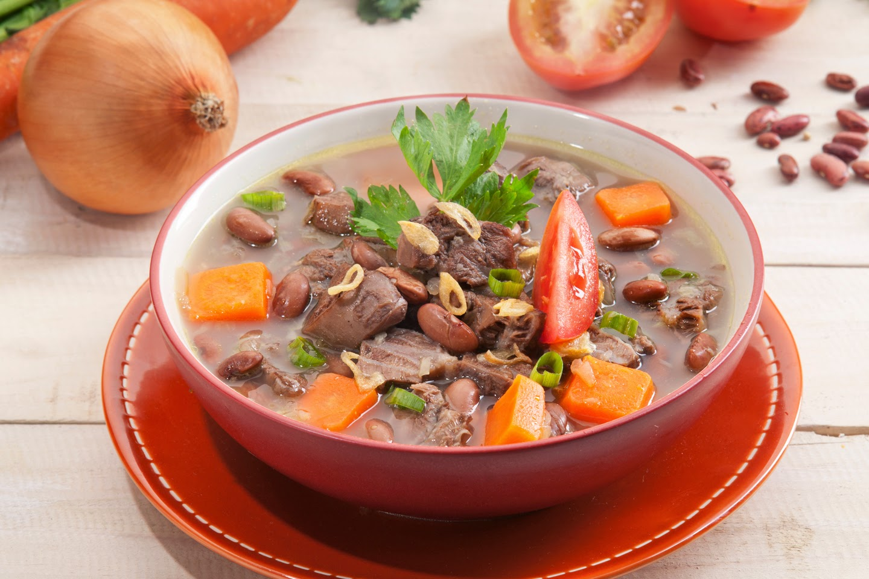 Sup Kacang Merah Penuh Gizi