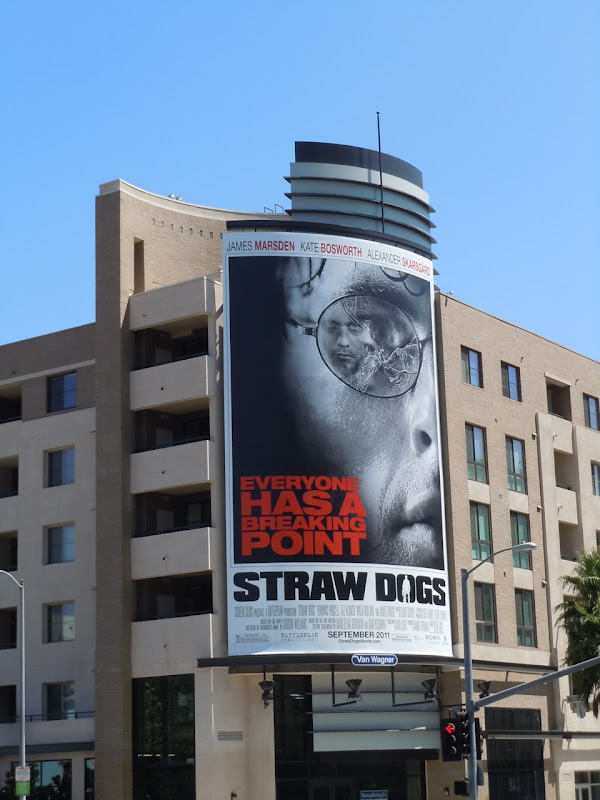 James Marsden Straw Dogs billboard