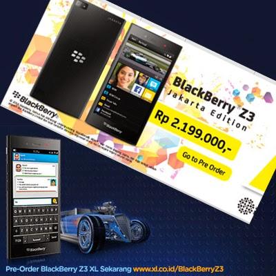 Pre Order BlackBerry Z3