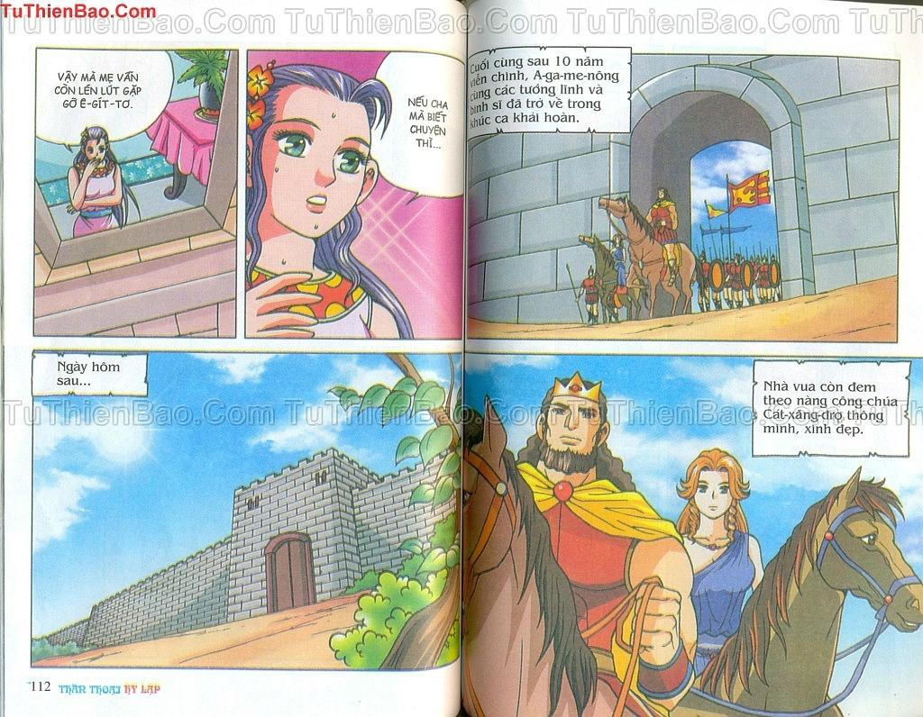 Thần thoại Hy Lạp Chapter 14 - Trang 55