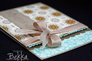 Spiced Paisley Congratulations Card
