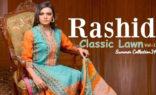 Rashid Classic Lawn 2014