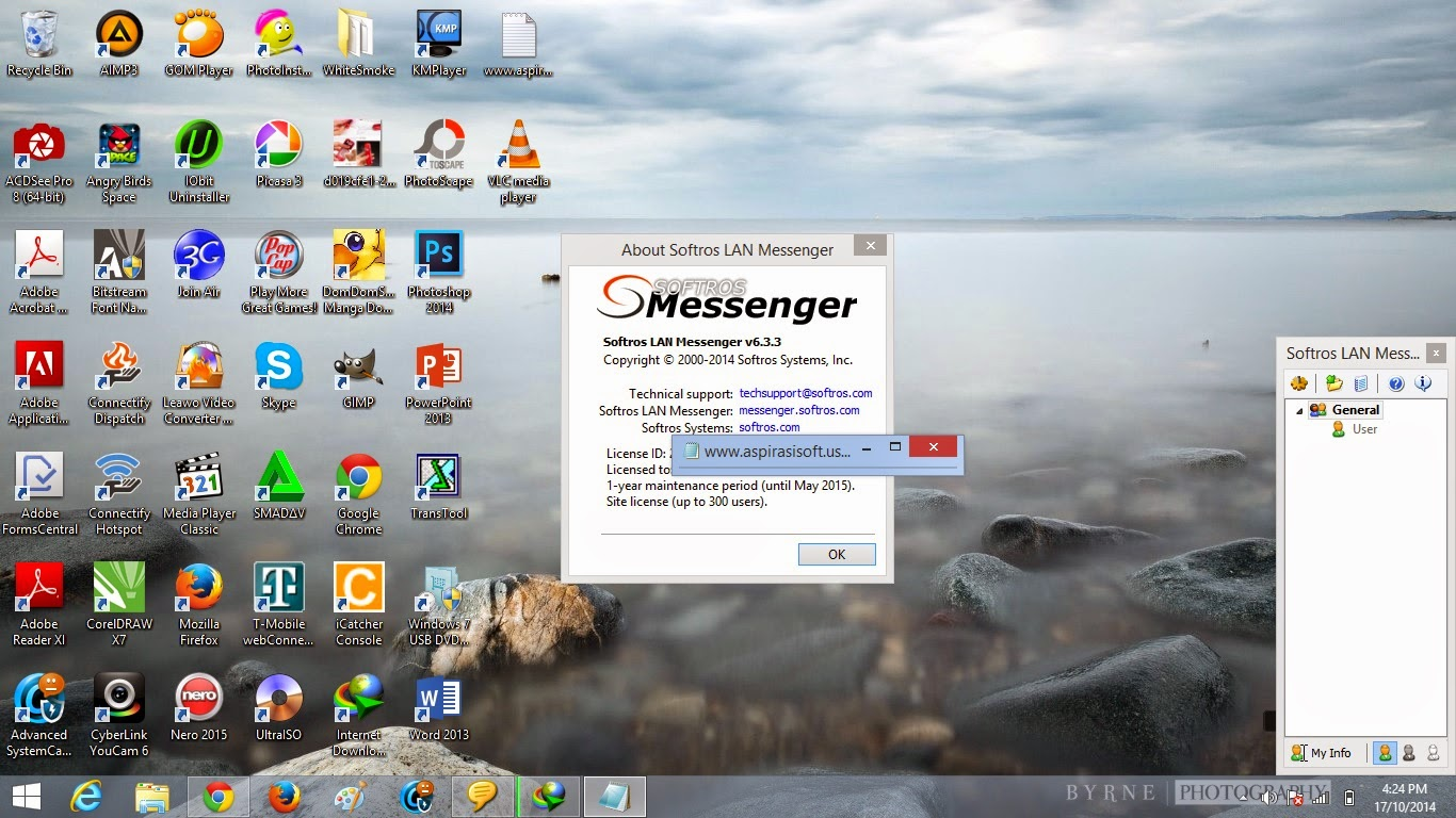 Softros LAN Messenger 6.3.3 Full License File - Uppit