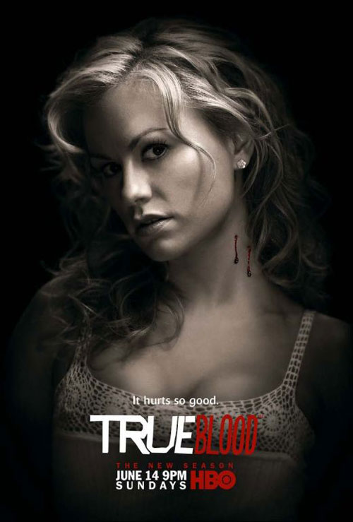 true blood rolling stone poster. true blood season 4 promo