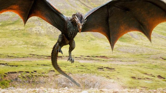 Los Lunes Seriéfilos Game of Thrones Drogon