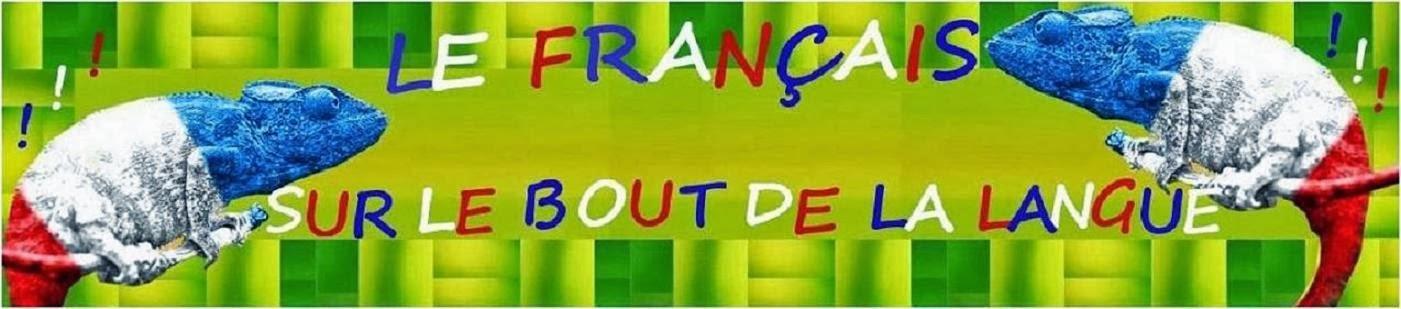 Le français sur le bout de la langue