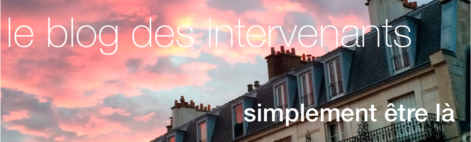 Le blog des intervenants