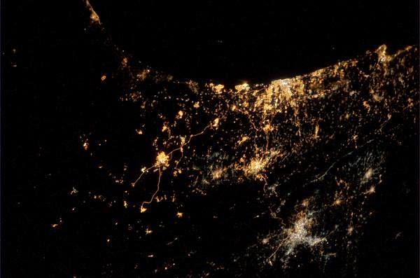 Astronot Potret Foto Kondisi Gaza dari Luar Angkasa