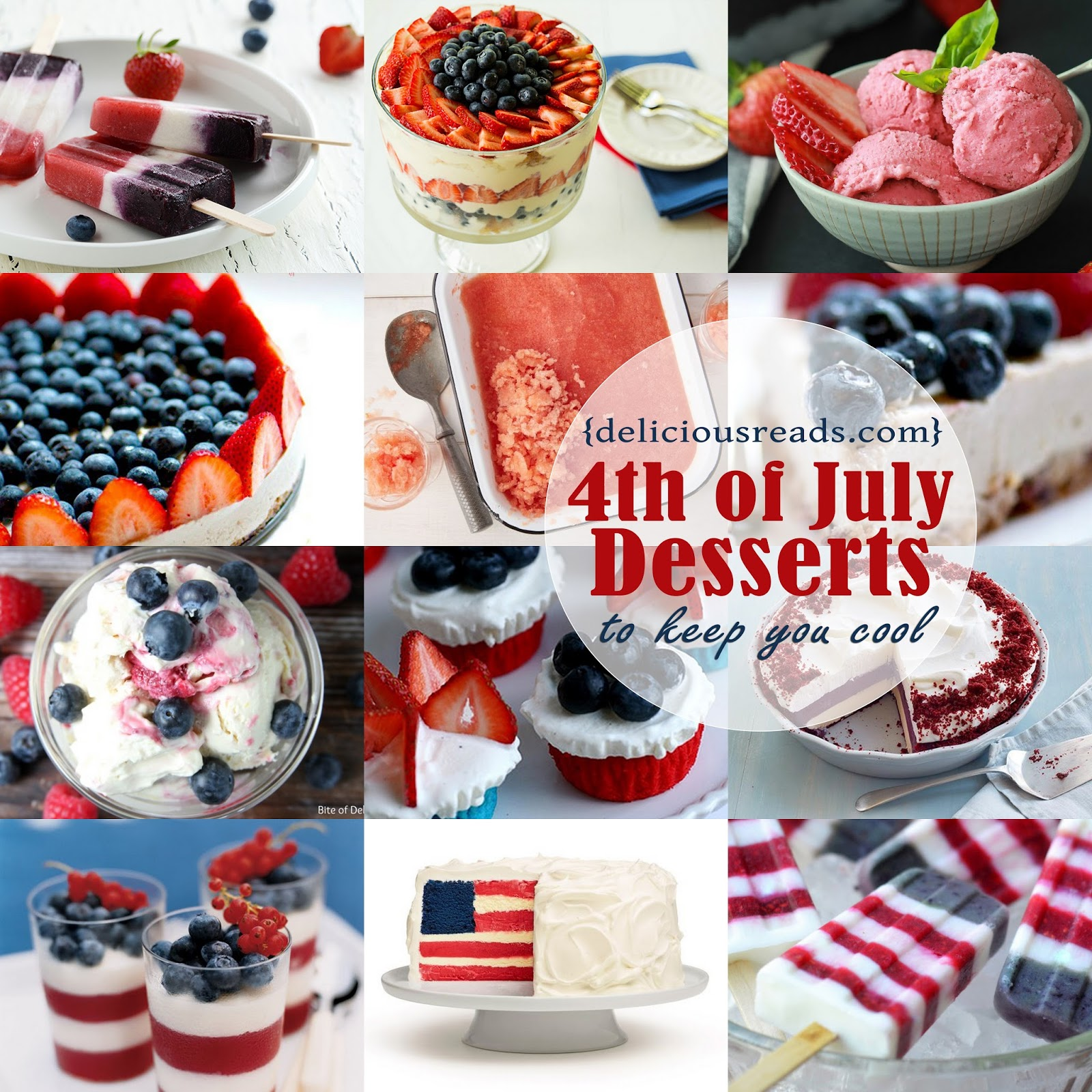 Delicious Reads Delicious Dish 4th Of July Desserts That
