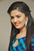 Sri Mukhi latest Photos at Muse Arts Gallery-thumbnail-8