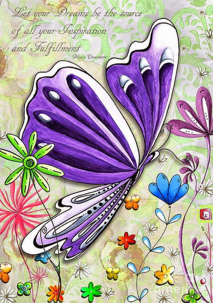 mariposa-cuadro-pintado-al-oleo