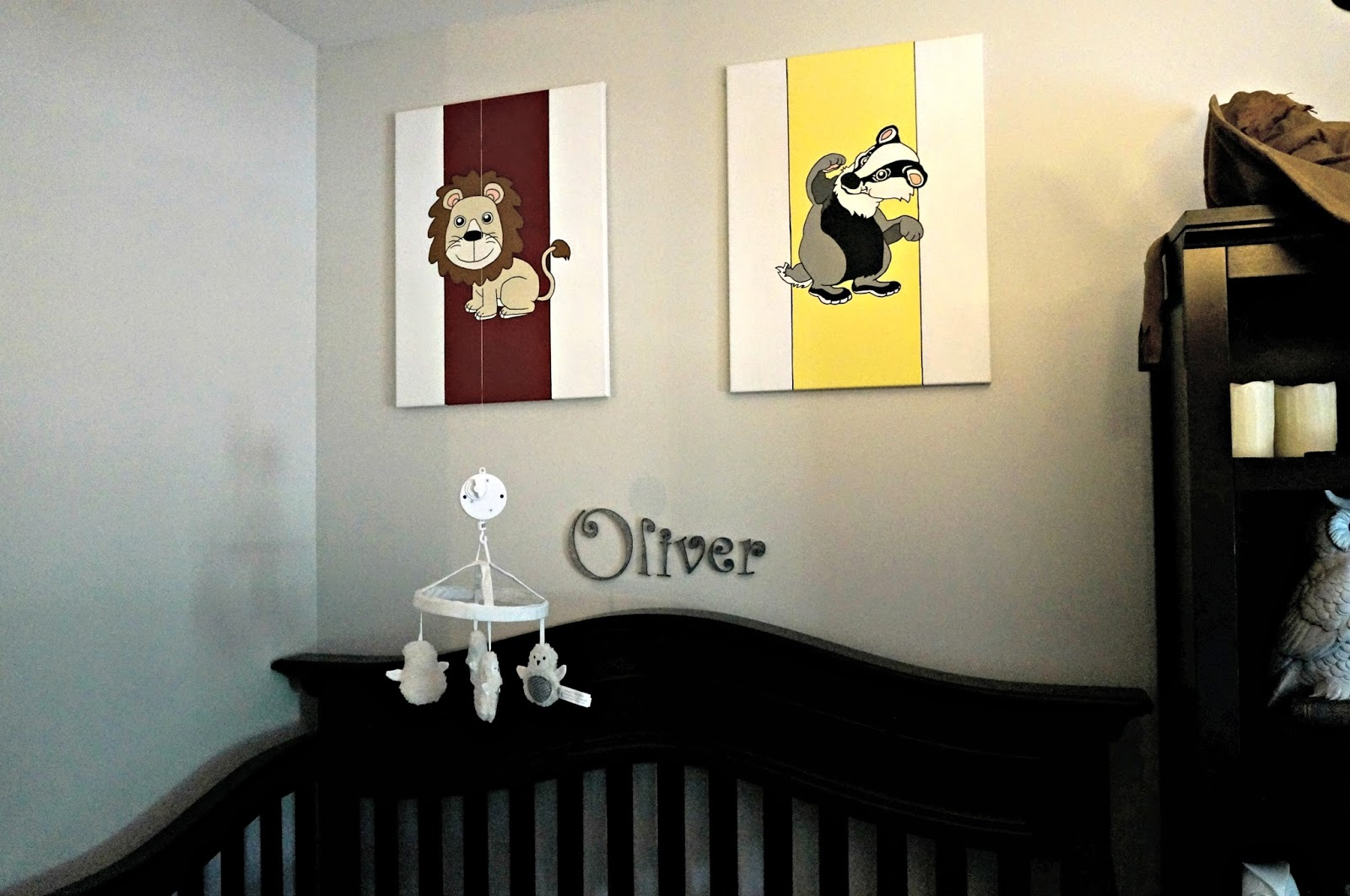 Untitledunderlined finished harry potter nursery for Room decor harry potter