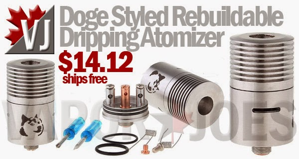 Doge Styled Rebuildable Dripping Atomizer