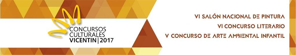 CONCURSOS CULTURALES VICENTIN   Edición  2016.