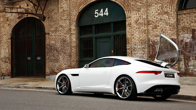 Jaguar C-X16 Concept side back
