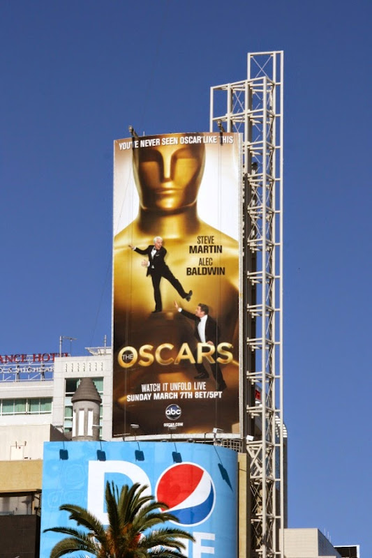 Oscars 2010 billboard
