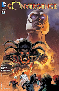 Cover of Convergence #4 from DC Comics