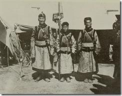 Tropas chinas en Urda. 1921
