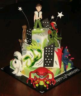 Ben 10 cakes for children parties