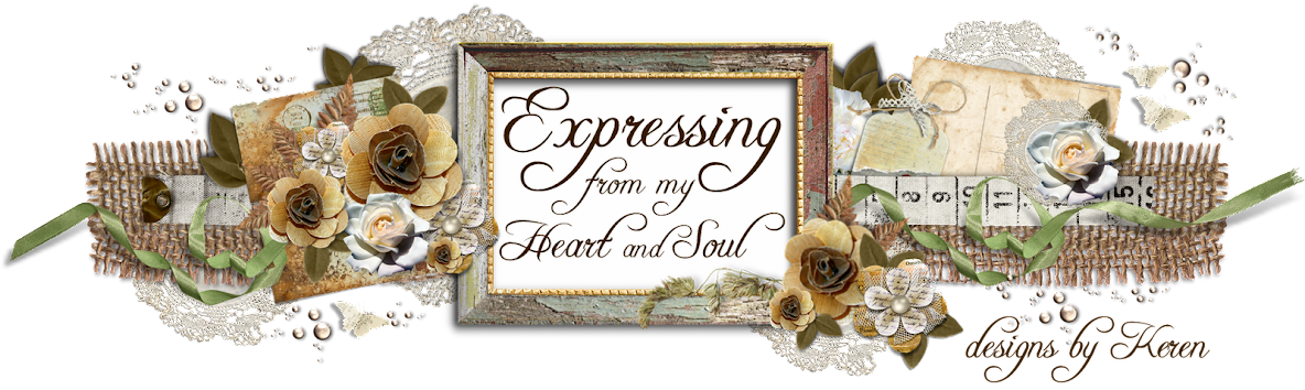 Expressing from my Heart and Soul