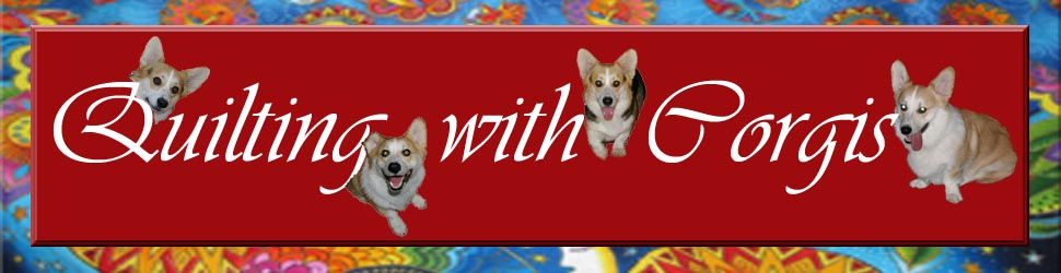 Quilting with Corgis