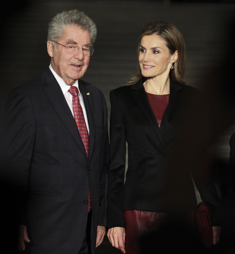Spanish Queen Letizia open the Velázquez exhibition