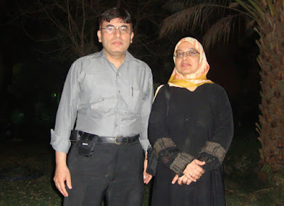 Abdul Shakour and Sabah Usmani