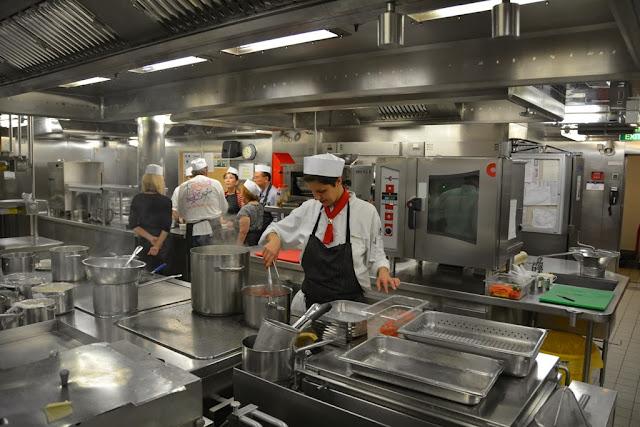 Murano cooking class kitchen