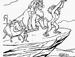 Lion King Kovu Coloring Pages