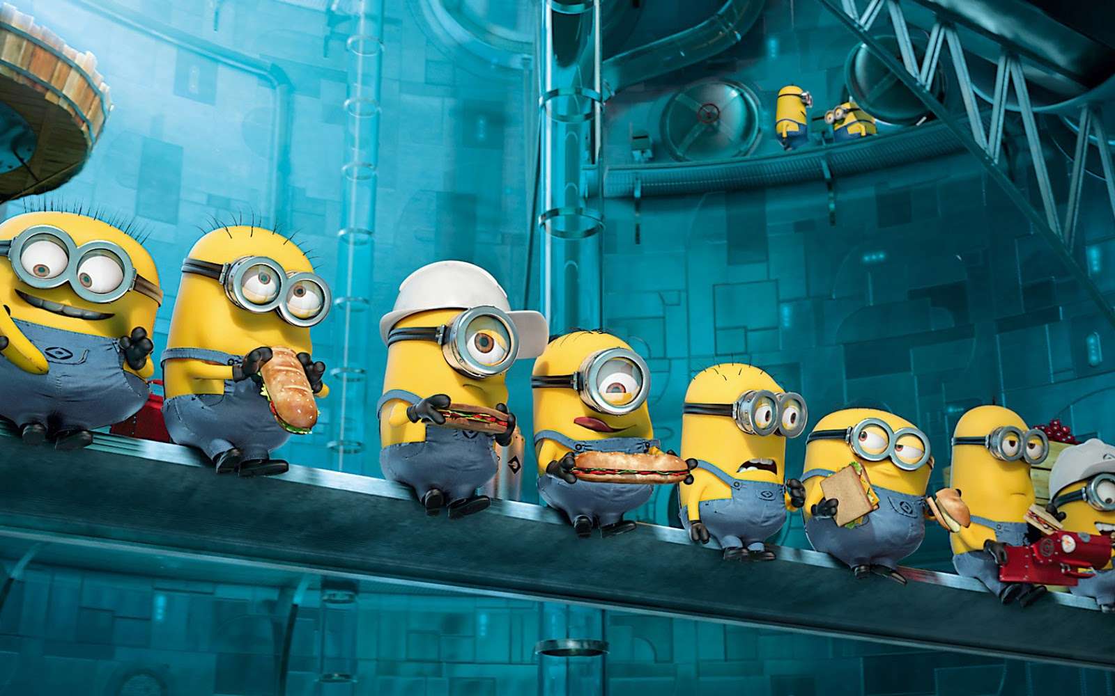 Ikke wallpaper despicable me 2 animatiefilm minions achtergrond