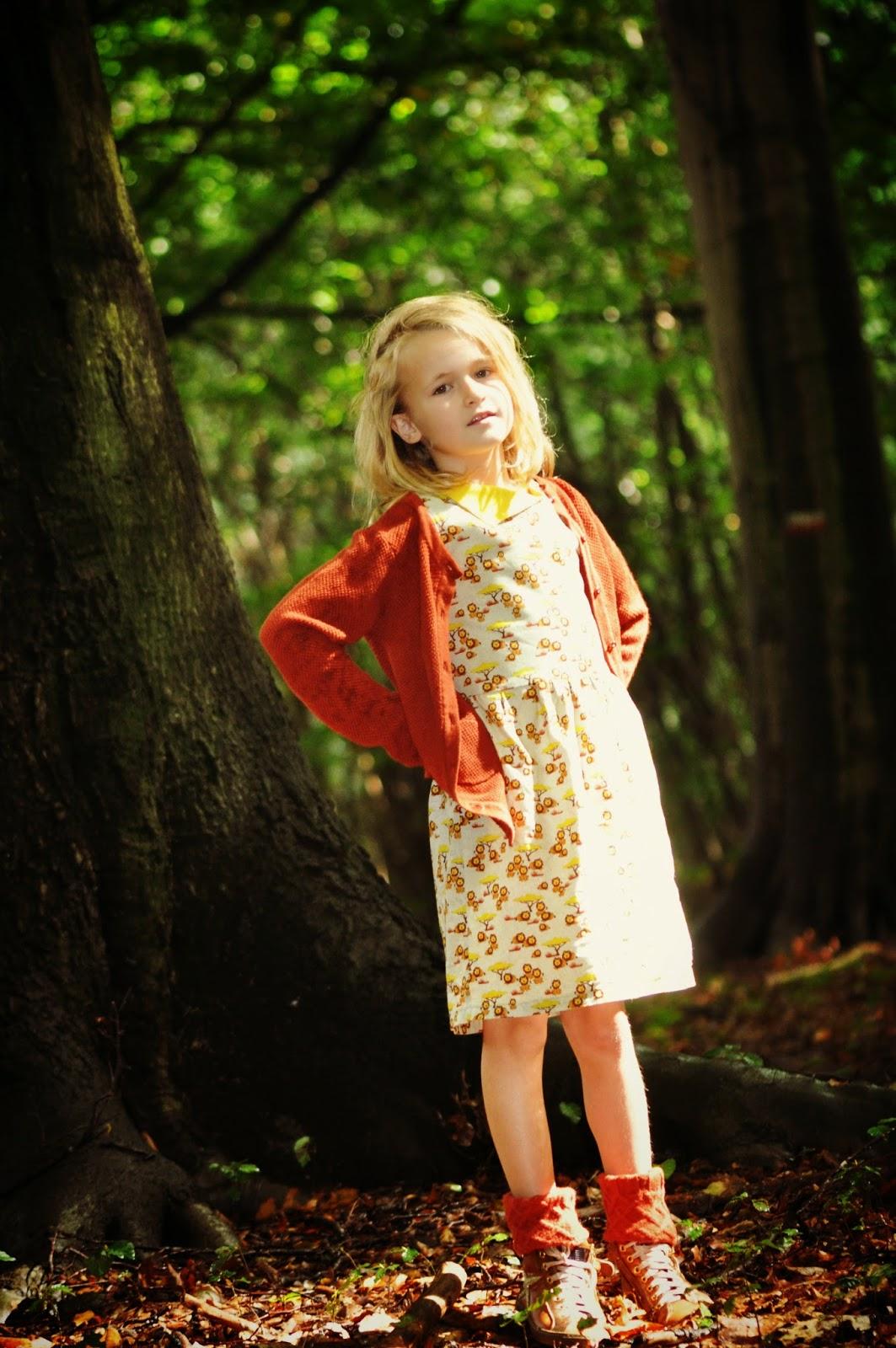 workshop naaien jurk timeless treasures sewing kindermode DIY