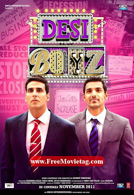 Desi Boyz Movie Poster