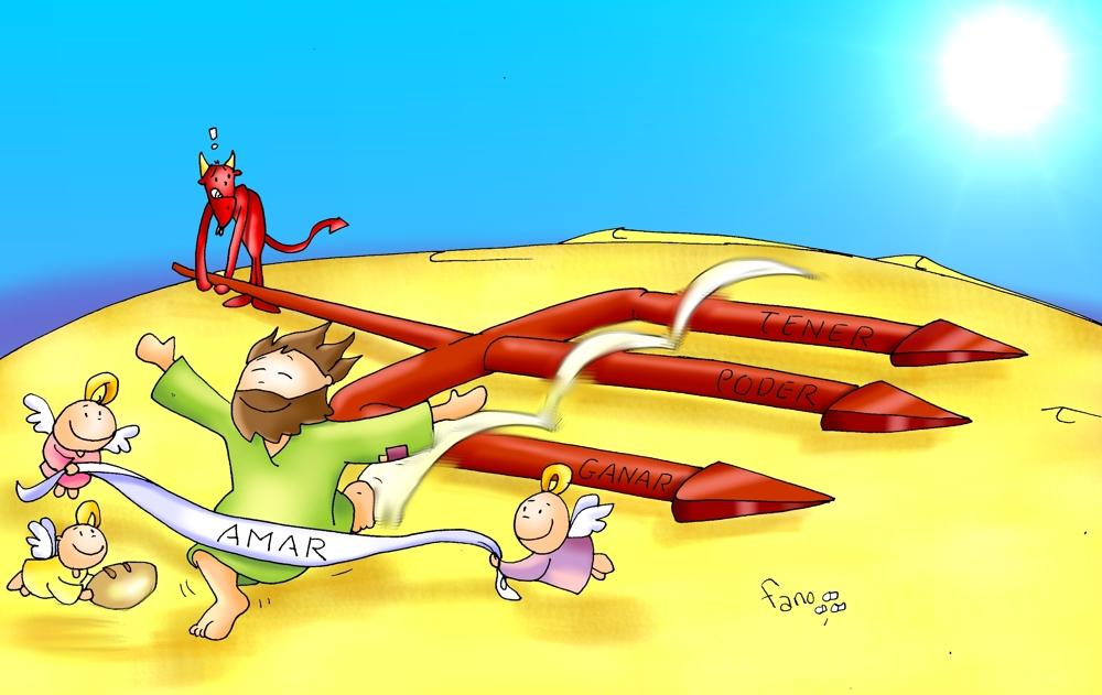 Imagenes De Jesus En El Desierto