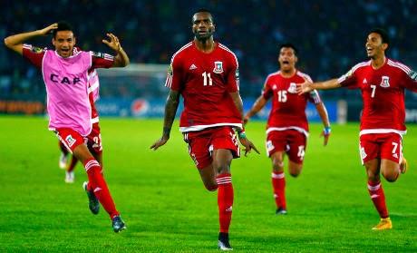 Ekuatorial Guinea & Kongo Ke Semifinal