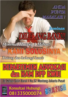 DEPARTEMEN ADVOKASI &amp; HAM DPP KWRI