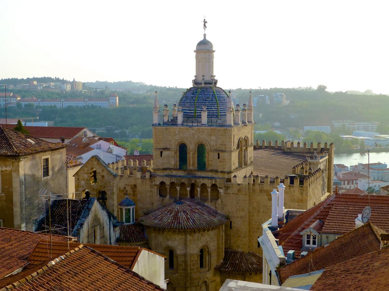 La Sé y el rio Mondego, Coimbra